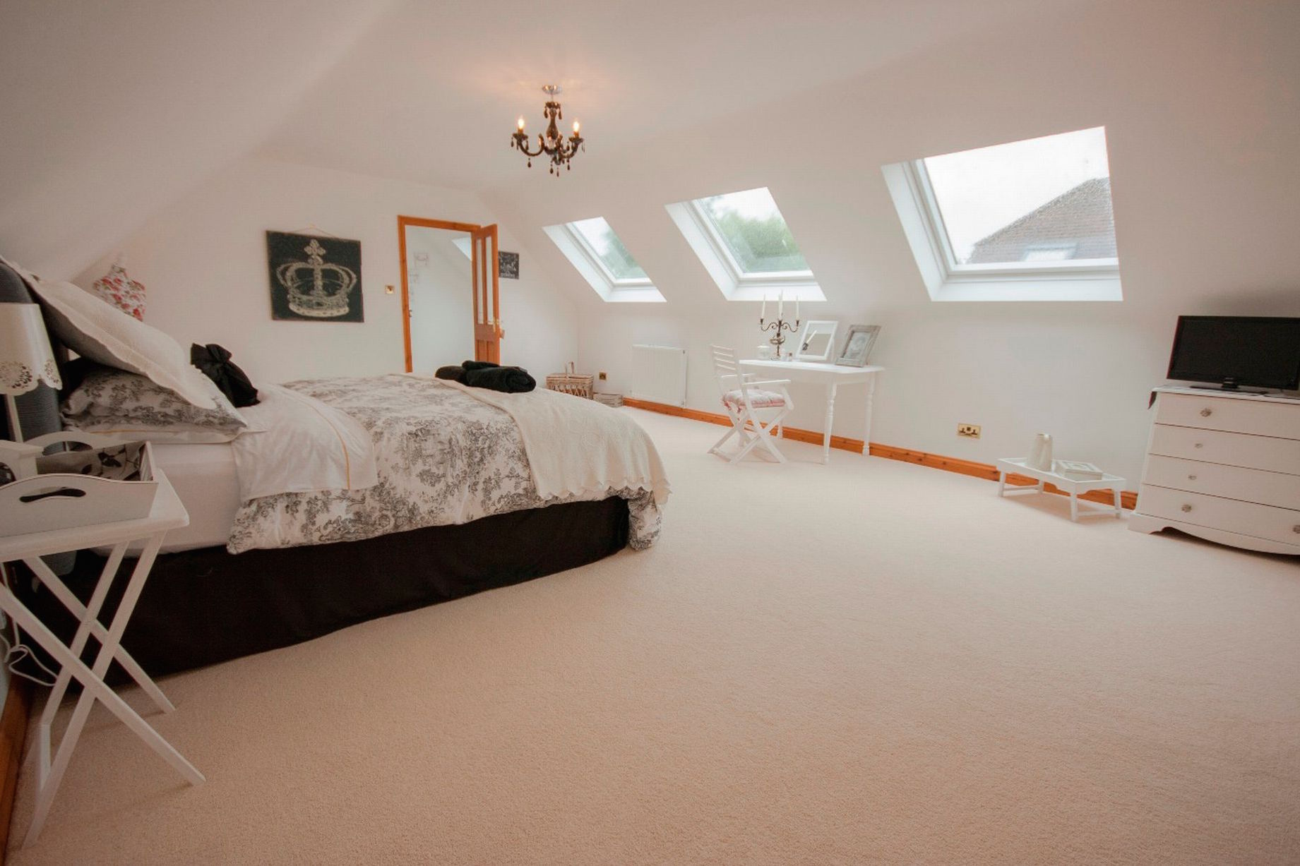 Loft Conversion Dormer in Cheshire, with Velux roof windows